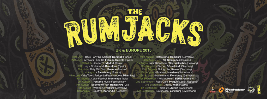 The Rumjacks UK Europe 2015
