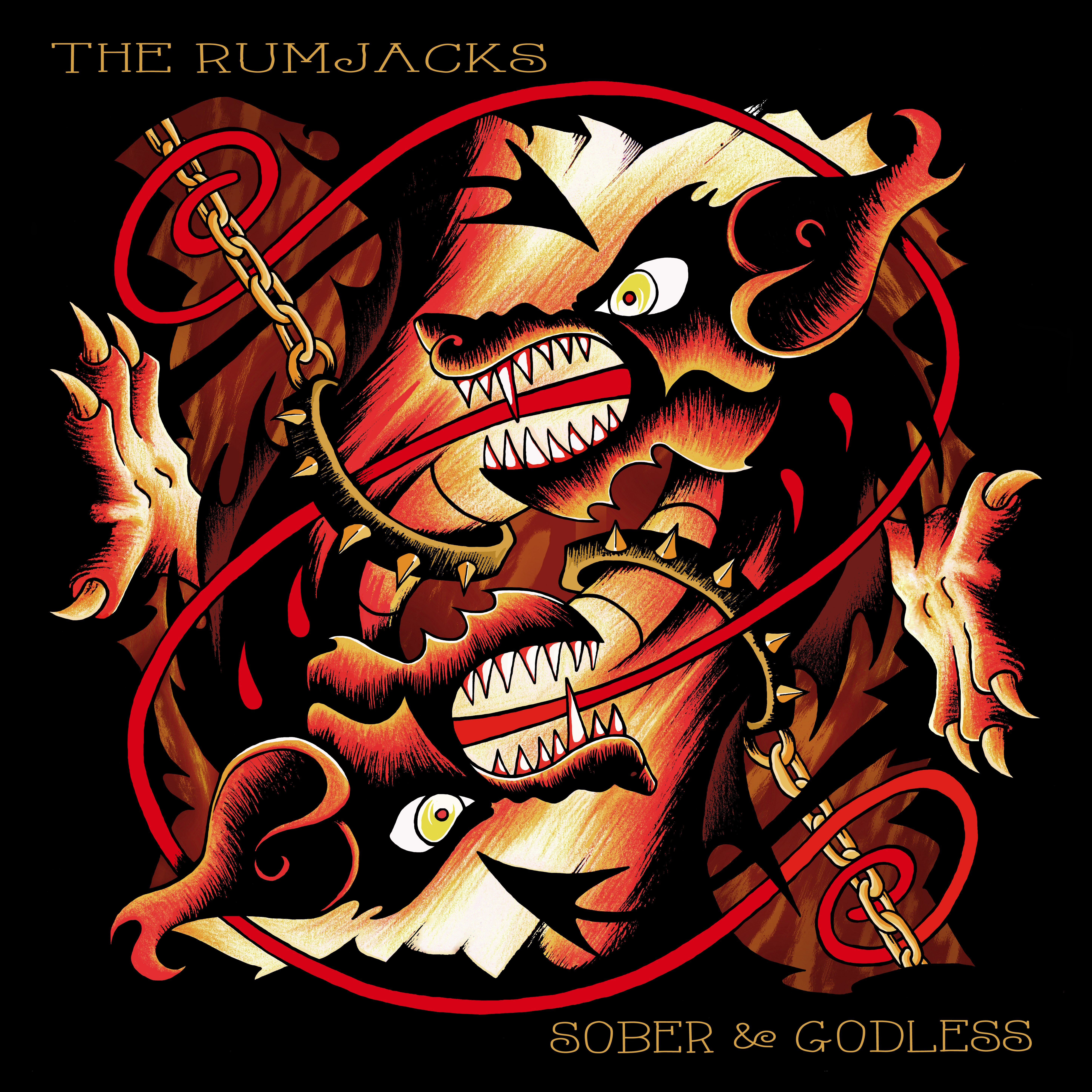 The Rumjacks Sober Godless Cover