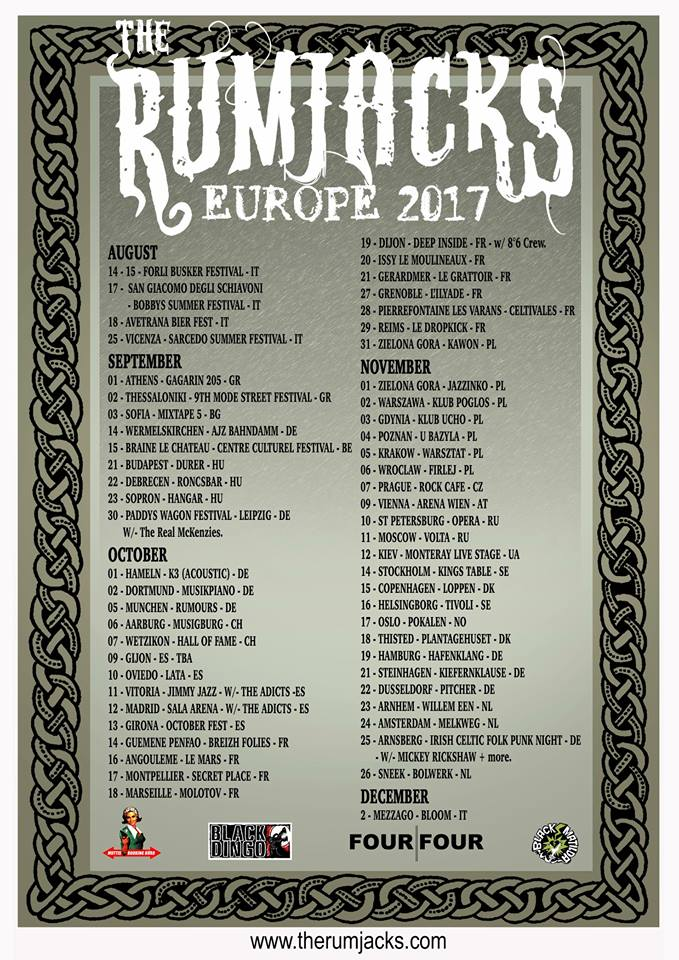 The Rumjacks Europe 2017